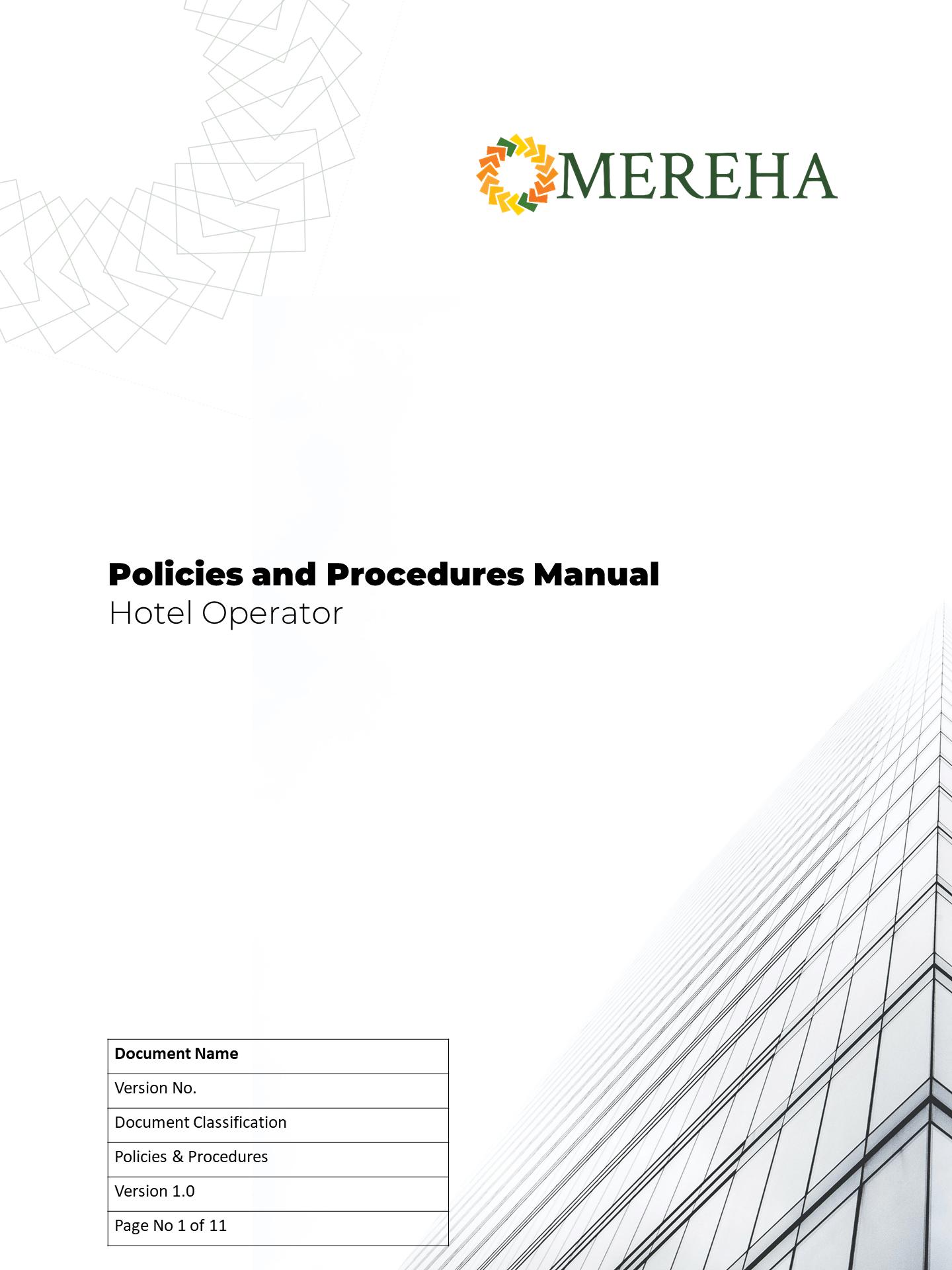 Policies&Procedures